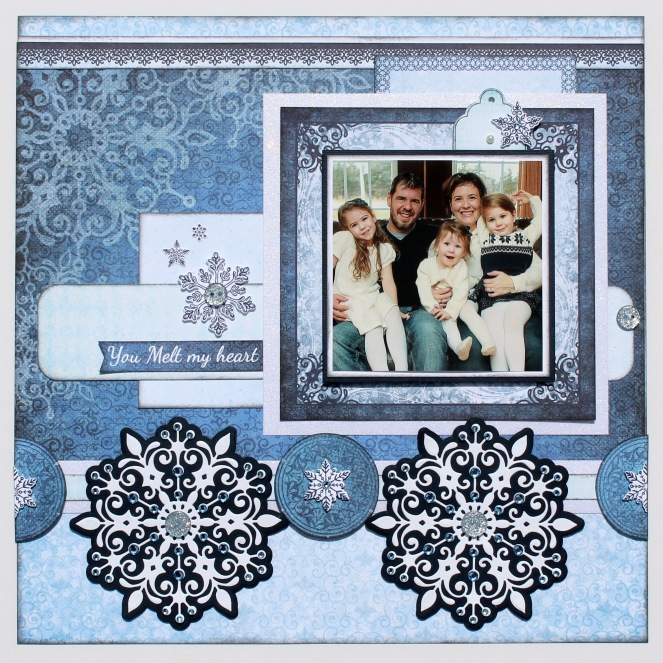 Snow Kissed Layout-1